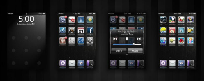 iPod Touch Theme by X-NX