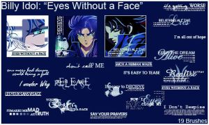 BillyIdol: Eyes Without a Face by The-Last-Silver-Moon