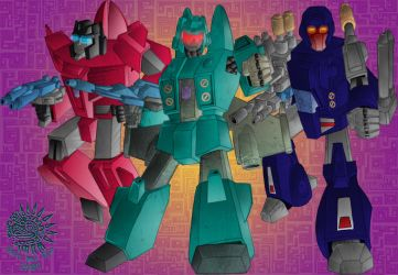 Targetmasters - colour by hellbat
