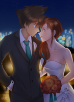 Comm: Amidst the City Lights by ShootingStar03