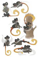 Tamarin Pose Sheet by Rhinne