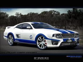 FPV Falcon Cobra by Jakusa by FutureMuscleCars