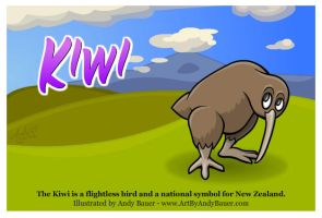 Kiwi by Art-by-Andy