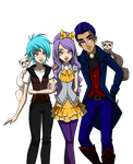 Miles, Milly and Justin by sparks220stars
