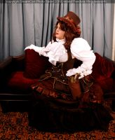 Steampunk Inventor Outfit 1 by DovSherman