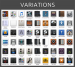 Variations Icon Pack Installer for Windows 7 by UltimateDesktops