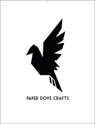 Paper Dove Crafts Logo by TheLaughingVixen