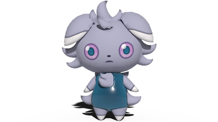 Espurr's one-piece swimsuit by kuby64