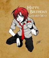Happy 34th Birthday Gerard Way by Eilyn-Chan