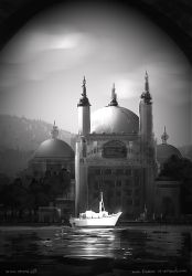 Mosque Yatch by fstarno