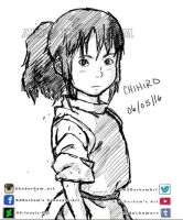 Chihiro Warm Up Sketch by GZ-Iconic-Ent