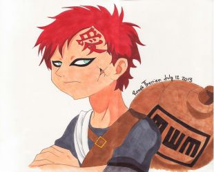 Gaara by ReneeTherrien