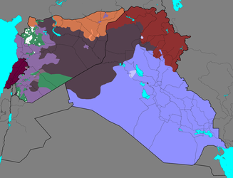 Syrian Civil War and Spillovers Current Situation by Thumboy21