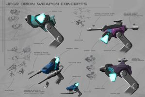 jfgr orion weapon concepts by greensandsguy