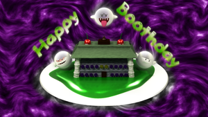Happy Boothday by picano