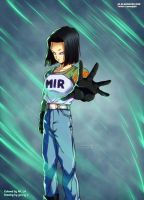 Dragon Ball Super: Android 17 by AR-UA