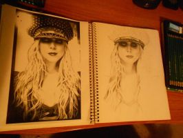 Maria Brink Progression by avengedxdeathbat