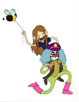 Toki and Dr. Rockso by Laresa