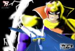 Captain Falcon and Blue Falcon 2 by Revivedracer209
