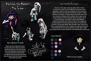 Horror OC: Patches the Rabbit and the Giver by Lamentine