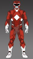 MMPR Red Ranger Concept by monstrous64