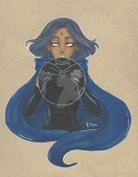 Raven by chelleface90