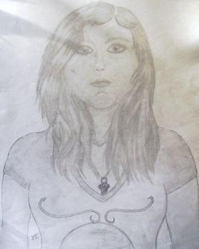 Self-Portrait #1 by Crystice