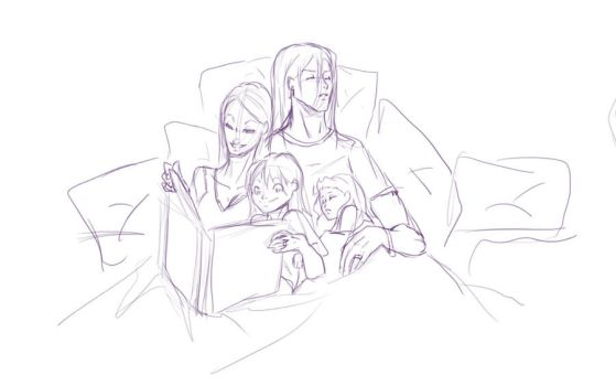 Family Night by SkyDominic