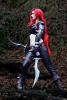 Focus on your next strike! [Katarina - LoL] by FiepiblossomCosplay