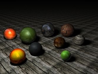 Materials Cinema 4D pack 1 by C4Dresources