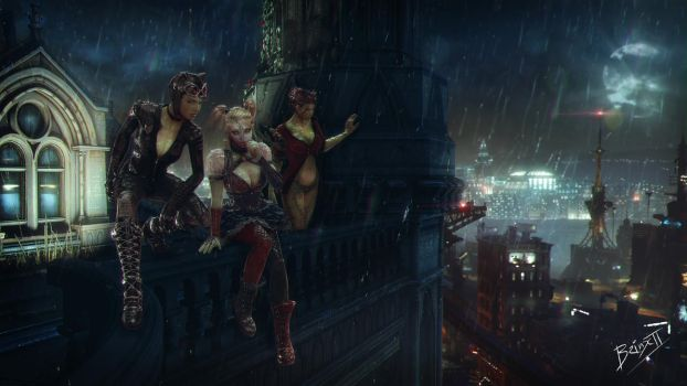 Gotham City Sirens by brinx-II