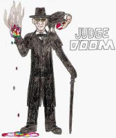 Judge Doom- Break Time Sketches by jamesgannon