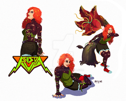 Poison Ivy Studies by yosilog