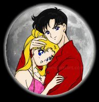 Usagi and Mamoru Vday by Senshi-chan