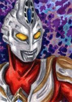 ACEO - Ultraman MAX by JRtheMonsterboy