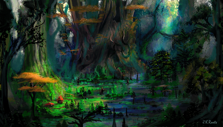The Ancient Swamp by JKRoots