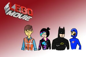 The Lego Movie Heroes by theaproject