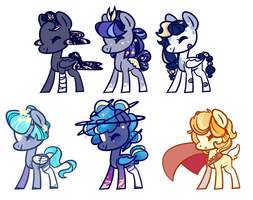 Nebulae Collab Adopts [Open] by pinktoys