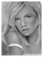 charlize theron by jovee