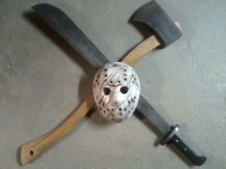 Jason Voorhees family crest? by BuckarooProps