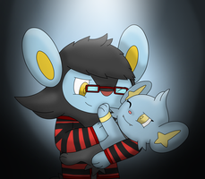 First Huggu by Charly-sparks