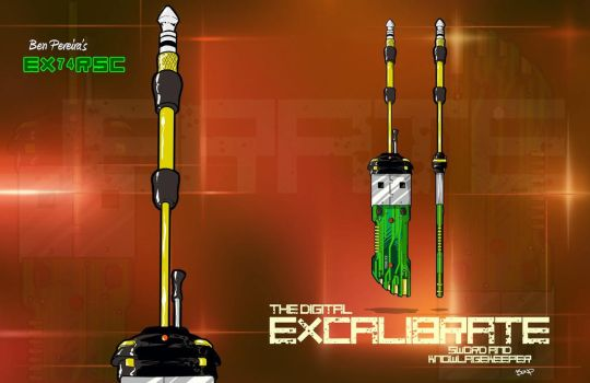 Redesigning the Excalibur Sword by BenPereira82