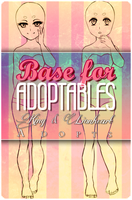 P2U Female base for adoptables (x2 bases) by KingnLionheartAdopts