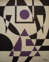 Equilateral Purple by dtrammell