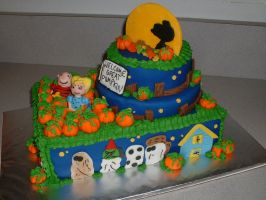 The Great Pumpkin Cake by Afina79
