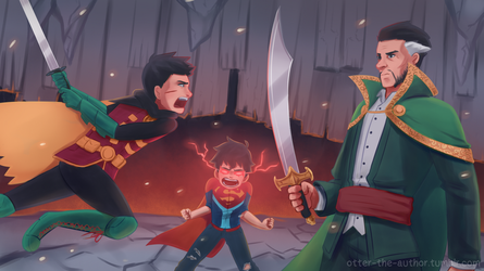Family shouldn't fight! by OtterTheAuthor