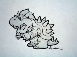 Day #25: Bowser by Anadia-Chan