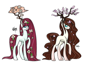 MLP Closed Species: Chloropony Adopts (Closed) by ProjectBlastArt