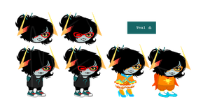 fan troll adopt | teal blood | closed by Adoptido