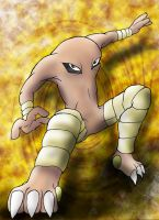 Hitmonlee is gonna get you